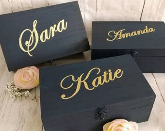 Bridesmaid Gift Bridesmaid Proposal Will You be my bridesmaid gift box Bridesmaid Gift Champagne Box Bridal Party gift