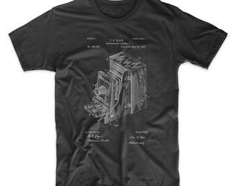 Lucidograph Camera Patent T Shirt, Photography Gift, Photographer Shirt, Camera Shirt, PP0301