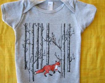Baby one-piece FOX, Newborn-24 mos
