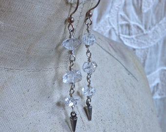 Diamond Spike Earrings II