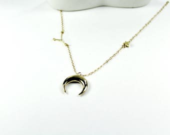 Cancer Zodiac SIGN CANCER HOROSCOPE.Cancer Zodiac Necklace, Cancer Zodiac Sign Necklace, Cancer Zodiac Water Sign Jewelry,Rose gold