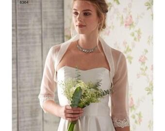 D0638, 8364, Simplicity, Bridal Accessories, Headpiece, Bolero, Fascinator, Veil, Hat, Cover Up, lace accessories, Wedding, Formal, Dress Up