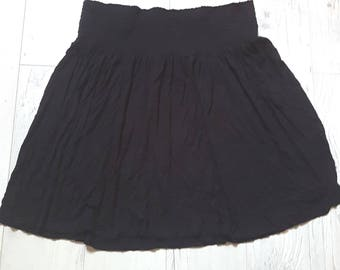Little black skirt, summer, party, vintage, retro, skirt, birthday gift, cheap clothes, cheap gift, clothing, boho, womens, girls