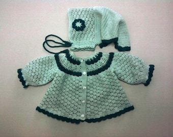 baby set : hat and shirt