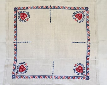 Embroidered Piece /Tablecloth Linen