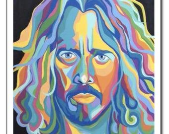 "Chris Cornell 11x14"" Giclee PRINT"