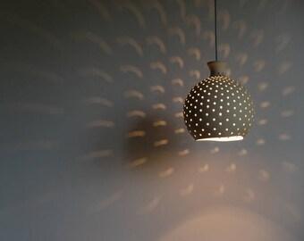 Ceramic Lamp, Home Decor Light, Light Pendant, Lamp Shade, Pendant Lighting, Hanging Light, Light Fixtures, Ceiling Lighting, Hanging Lamp