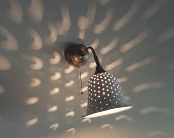 wall light fixture, Ceramic lamp, Home Decor Light, wall light Pendant, Wall fixture, wall lamp, wall sconce light, ceramic light,