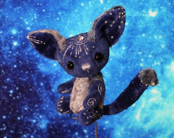 Fantasy Creature Toy Fantasy Animal Magical Art Toy Miniature ooak toy 3,5 inch Enik Orion