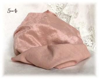 4-5 mm pile Italian VISCOSE Plush Fabric Miniature Fur Hand Dyed (5-4)  1/8 m teddy bear making supplies