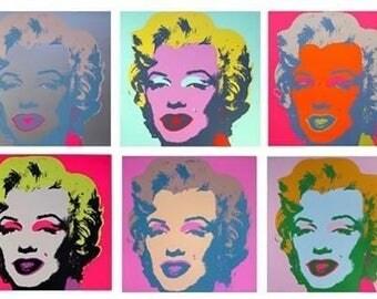 ANDY WARHOL - 'Marilyn' - portfolio of ten original screenprints - c1990s - very large (Sunday b Morning. Pop Art)