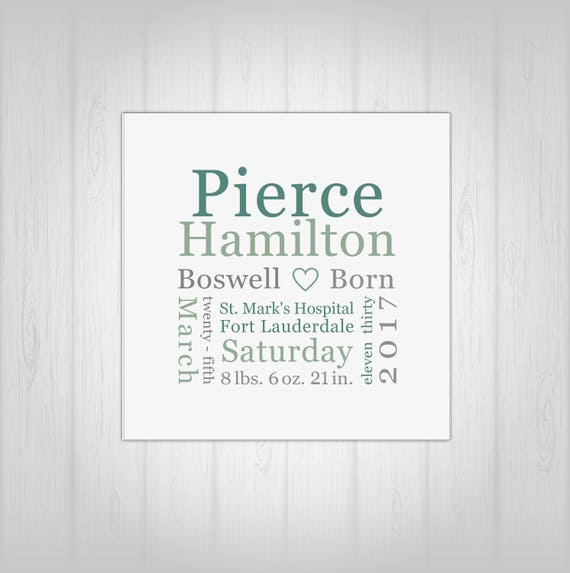 Personalized birth keepsake digital options baby gift personalized birth keepsake digital options baby gift birth announcement plaque birth memento baby gift girl baby gift boy negle Image collections