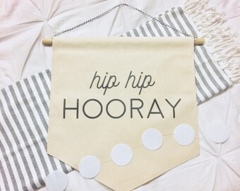 Hip Hip Hooray Banner