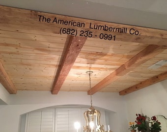 Shiplap lightweight Wood for Walls, Ceilings, Barndominiums, Accent Walls