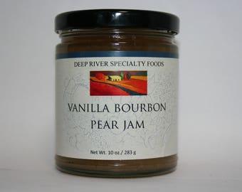 Vanilla Bourbon Pear jam