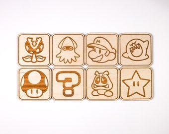 Mario Coasters (Set of 8)