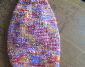 Dog or Cat sweater. xxs long  sleeve turtleneck festive colors