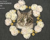 book :The magic process -- EMBROIDERED CATS -- Hiroko's Style   *English version*