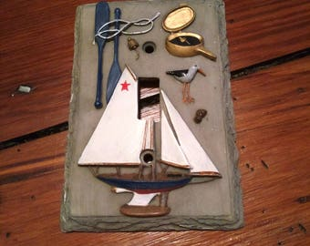 Nautical Switchplate, Maybe for a Beach House