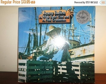 Save 30% Today Vintage 1973 LP Record Jimmy Buffett A White Sport Coat and A Pink Crustacean Near Mint Condition 11603