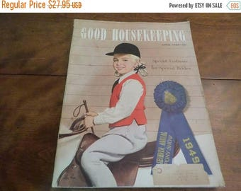 Save 25% Now Vintage April 1949 Good Housekeeping Magazine Complete Excellent Condition Wonderful Old Ad's