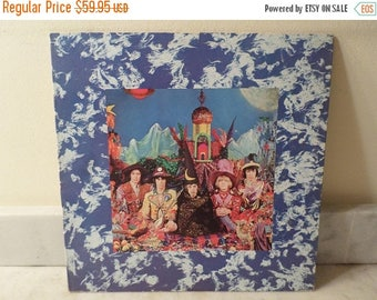 Save 30% Today Vintage 1971 Vinyl LP Record Their Satanic Majesties Request The Rolling Stones Near Mint Condition 14718