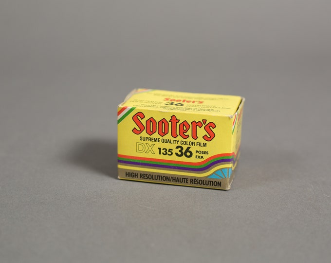 Vintage 35mm Film - Sooter's 36 Exposure Color Supreme Quality Professional Expired Color Film from the 90's