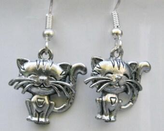 Whisker Cat earrings