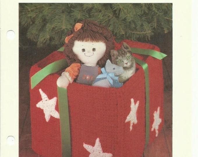 Retrocon Sale - Gift box crochet pattern digital download