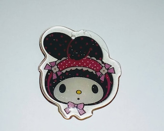 X 1 head baby cat kawaii plexiglass 35mm