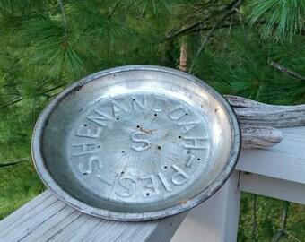 Shenandoah Pie Pan Antique Pie Tin #5