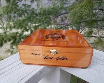 A. Fuente Best Seller Wooden Cigar Box