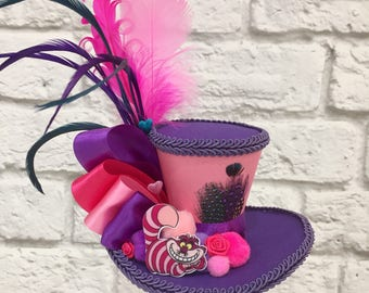 Reserved for Ruby Phoenix - Local Pick Up Erskineville - Cheshire Cat Mini Top Hat, Mad Hatter Mini Top Hat,