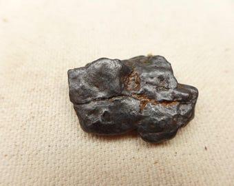 Meteorite M9 - Meteorite Specimen - Nantan Meteorite - Nickel-Iron Meteorite  Ring Size Meteorite