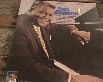 Fats Domino !- vinyl record