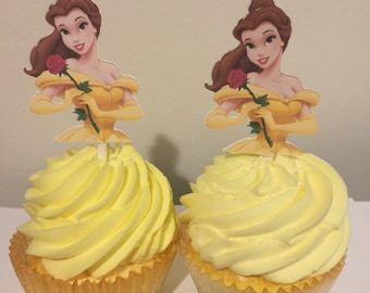 Belle cupcakes Etsy