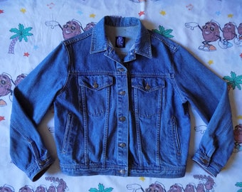 Vintage 90's GAP denim Jean Jacket, size S/M cropped