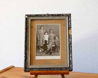 Family Portrait, Antique Framed Portrait, Old Family Photo, Framed Photograph, Old Photo, Framed Photography, Old Framed Photo, Greek Photo