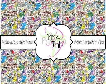 Disney Inspired Craft Vinyl and Heat Transfer Vinyl Pattern Disney 3
