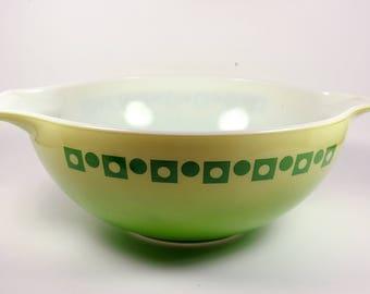 Green Mid Century Pyrex Promotional Cinderella Style Salad Bowl