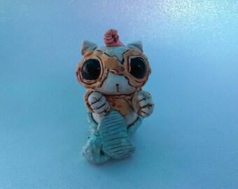 Baby Seamonkey Sea Creature Scupture