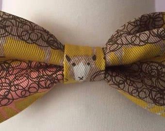 Sheep Design Bow Tie