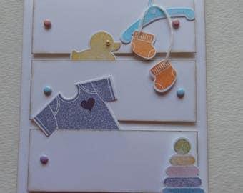 Dresser Baby Card