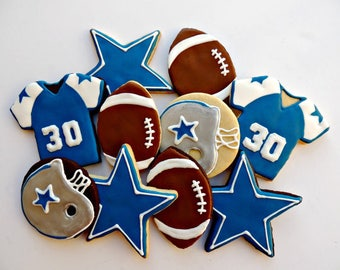 Dallas Cowboys Football cookies