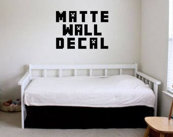 Minecraft wall decal   Etsy