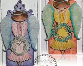 Seasonal Angels - Winter and Spring E-Pattern by Deb Antonick