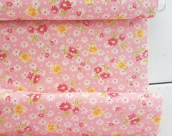 Old New 30's Spring 2017 - Daisy Dot(Pink Background) - Lecien - Japan, Inc