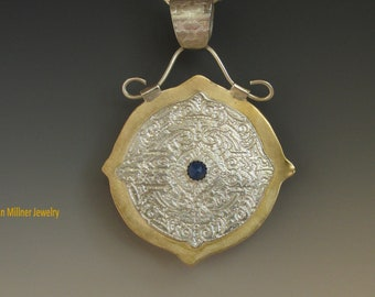 Mandela with Lapis and Mixed Metals