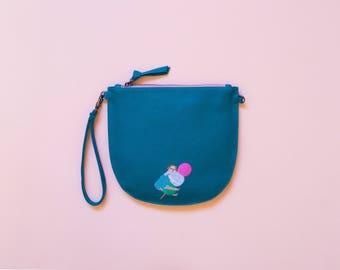 NEW Oh Dango Luna Half-Moon Cross Body Bag