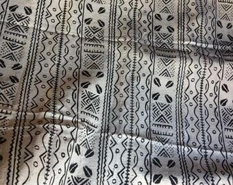 Mali mudcloth textiles fabric Africa Handmade textiles